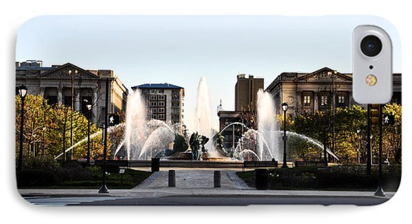 Logan Square Philadelphia Phone Case by Bill Cannon