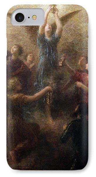 Lohengrin  IPhone Case by Ignace Henri Jean Fantin-Latour