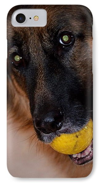 IPhone Case featuring the photograph Loki by Cathy Shiflett