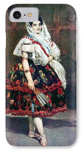 Lola Of Valencia Phone Case by Edouard Manet