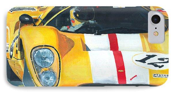 Lola T70 Mkiii/b 1969/1970 Season Cars Sebring Le Mans IPhone Case by Yuriy Shevchuk