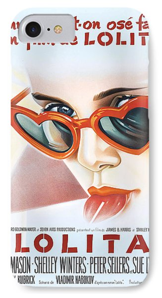 Lolita Poster IPhone Case by Gianfranco Weiss