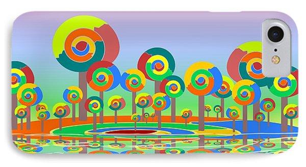 Lollypop Island Phone Case by Anastasiya Malakhova