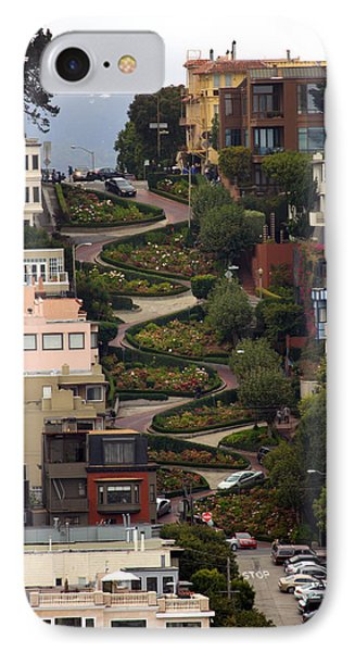 Lombard Street Phone Case by David Salter