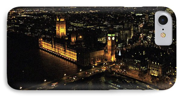 IPhone Case featuring the photograph London At Night by Katie Wing Vigil