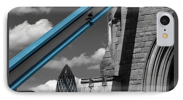 London City Frame IPhone Case by Hazy Apple
