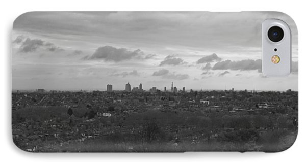 IPhone Case featuring the photograph London City by Maj Seda