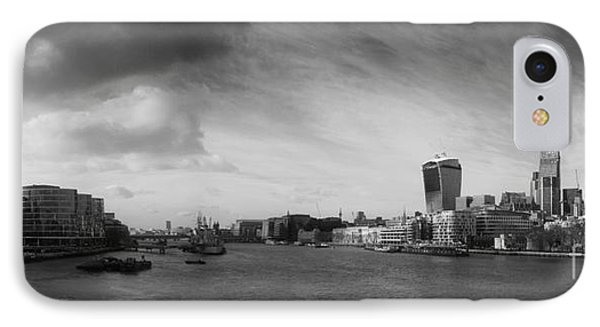 London City Panorama IPhone Case by Pixel Chimp