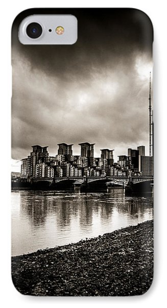 London Drama IPhone Case by Lenny Carter