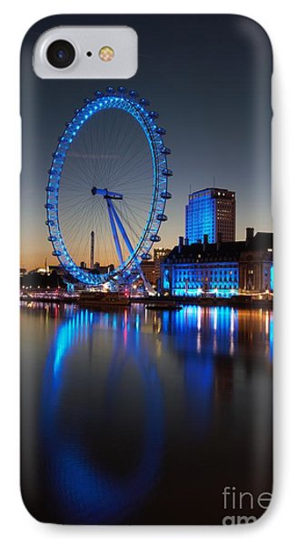 London Eye 2 IPhone Case by Mariusz Czajkowski