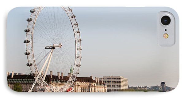 IPhone Case featuring the photograph London Eye Day by Matt Malloy