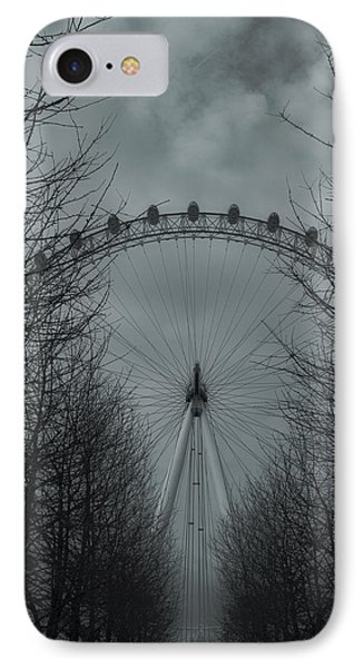 London Eye IPhone Case by Martin Newman