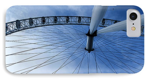 London Eye IPhone Case by Melissa Petrey