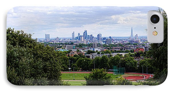 London From Parliament Hill IPhone Case by Nicky Jameson
