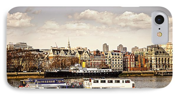 London From Thames River IPhone Case