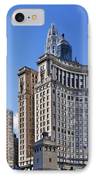 London Guarantee And Accident Building Chicago Phone Case by Christine Till