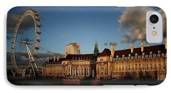 London iPhone 7 Case - #london #londoneye #westminsterbridge by Ozan Goren
