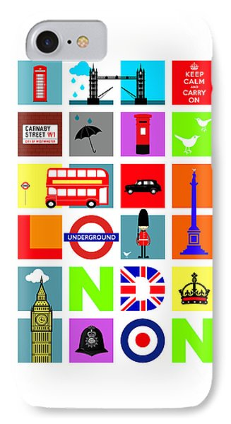 London IPhone 7 Case by Mark Rogan