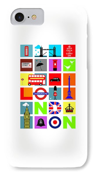 London IPhone Case by Mark Rogan