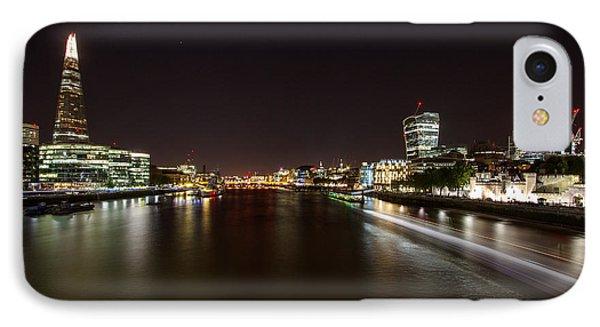 London Nightscape Phone Case by Wayne Molyneux