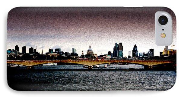 London Over The Waterloo Bridge Phone Case by RicardMN Photography