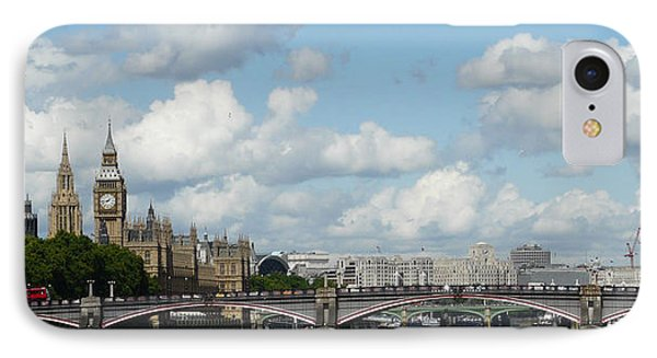 London Panorama IPhone Case by John Topman