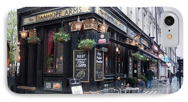 London Pub Phone Case by Thomas Marchessault