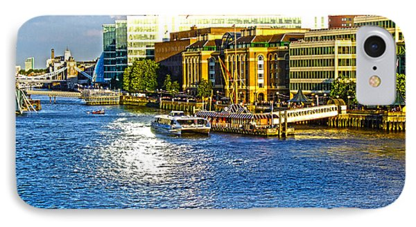 London River Thames IPhone Case by Andrew Middleton