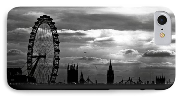London Silhouette Phone Case by Jorge Maia
