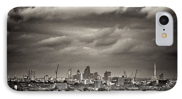 London Skyline From Hampstead Heath IPhone Case by Lenny Carter