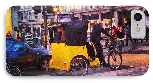 London iPhone 7 Case - #london #street  #streetphoto #cars by Abdelrahman Alawwad
