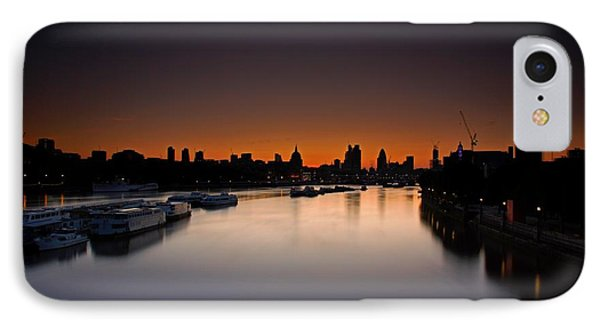 IPhone Case featuring the photograph London Sunrise by Mariusz Czajkowski