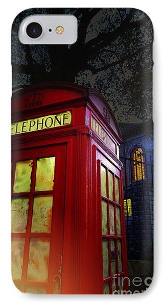London Tardis IPhone Case