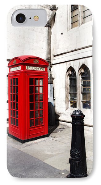 London Telephone Box IPhone Case