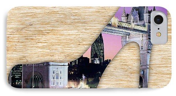 London Tower Bridge IPhone Case by Marvin Blaine