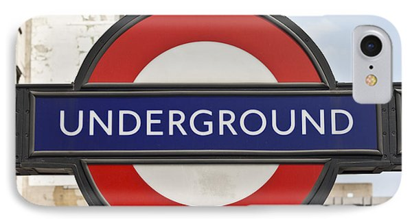 London Underground IPhone 7 Case by Georgia Fowler