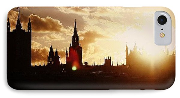 London iPhone 7 Case - #london #westminster #parliamenthouse by Ozan Goren
