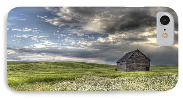 Lone Barn  IPhone Case by Latah Trail Foundation