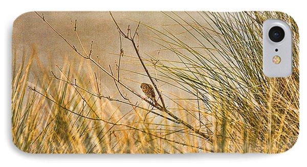 Lone Bird IPhone Case by Anne Rodkin