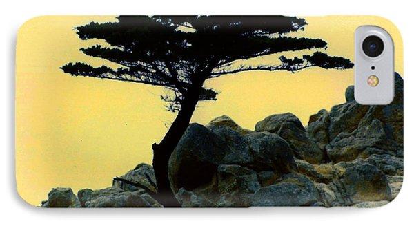Lone Cypress Companion IPhone Case