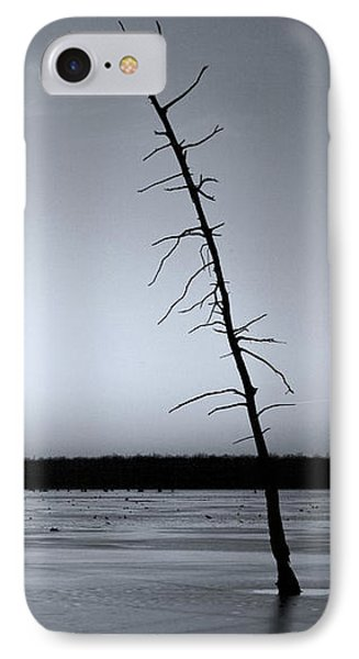 Lone Cypress IPhone Case