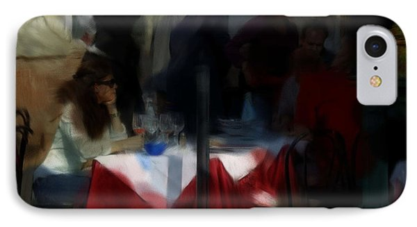 Lone Diner IPhone Case by Ron Harpham