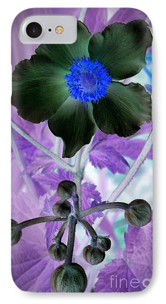 Lone Flower 1 Phone Case by Chalet Roome-Rigdon