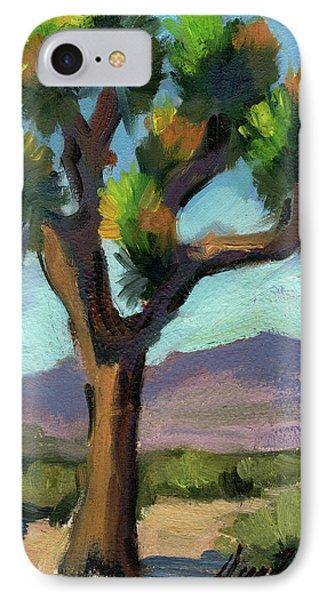 Lone Joshua Tree IPhone Case