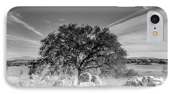 IPhone Case featuring the photograph Lone Oak by Robert  Aycock
