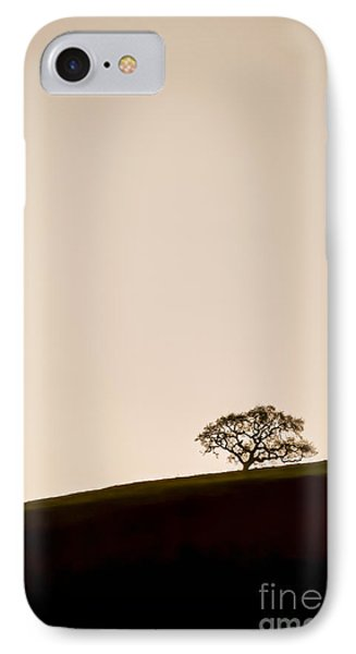 Lone Oak Tree Phone Case by Holly Martin