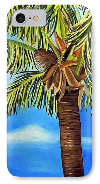 Lone Palm IPhone Case by Shelia Kempf