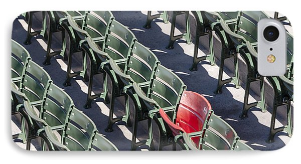 Lone Red Number 21 Fenway Park IPhone Case