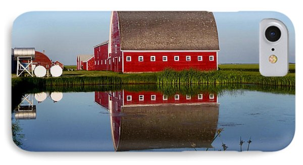 IPhone Case featuring the photograph Lone Star Farms by Larry Trupp