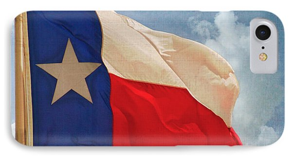 Lone Star Flag IPhone Case